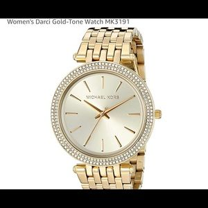 Michael Kors Darci Gold watch